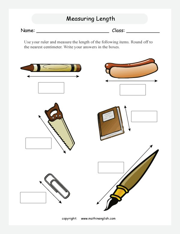 Blog – Math Measurement Worksheets Grade 2